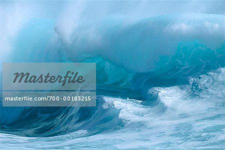 Ocean Wave Hawaii, USA Stock Photo - Rights-Managed, Image code: 700-00183215
