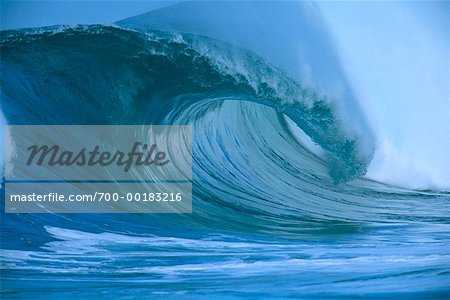 Ocean Wave Hawaii, USA Stock Photo - Rights-Managed, Image code: 700-00183216