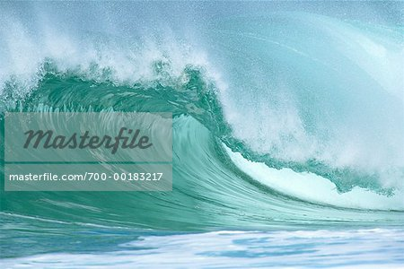 Ocean Wave Hawaii, USA Stock Photo - Rights-Managed, Image code: 700-00183217