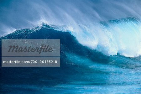 Ocean Wave Hawaii, USA Stock Photo - Rights-Managed, Image code: 700-00183218
