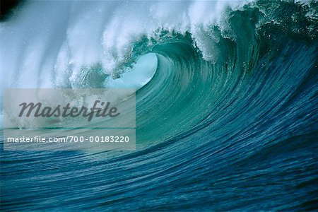 Ocean Wave Hawaii, USA Stock Photo - Rights-Managed, Image code: 700-00183220