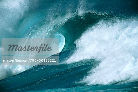 Ocean Wave Hawaii, USA Stock Photo - Rights-Managed, Image code: 700-00183221