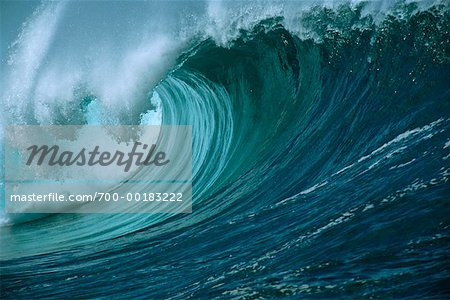 Ocean Wave Hawaii, USA Stock Photo - Rights-Managed, Image code: 700-00183222