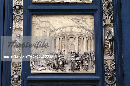 Door of Baptistry Florence, Italy Stock Photo - Rights-Managed, Image code: 700-00183366