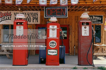 Old Gas Station South Dakota, USA Stock Photo - Rights-Managed, Image code: 700-00189315