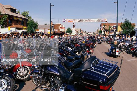 Harley Davidson Rally Sturgis, South Dakota, USA Stock Photo - Rights-Managed, Image code: 700-00189342