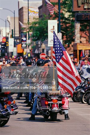 Harley Davidson Rally Sturgis, South Dakota, USA Stock Photo - Rights-Managed, Image code: 700-00189344