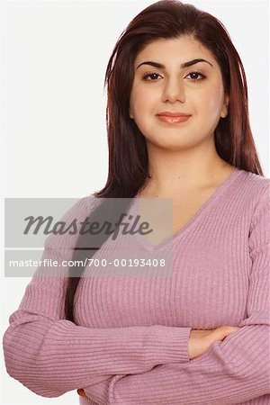 Portrait of Woman Stock Photo - Rights-Managed, Image code: 700-00193408