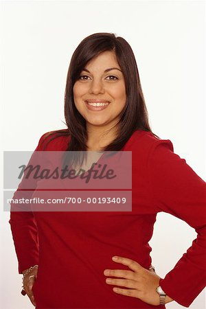 Portrait of Woman Stock Photo - Rights-Managed, Image code: 700-00193409