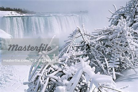 Niagara Falls in Winter Ontario Canada