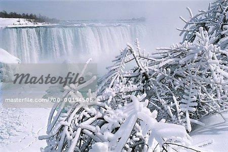 Niagara Falls in Winter Ontario Canada
