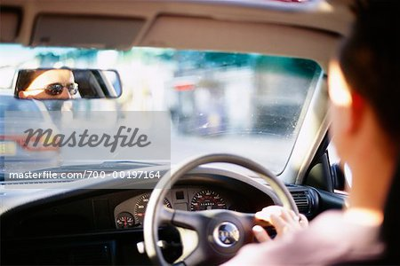 Man Driving Car Stock Photo - Rights-Managed, Image code: 700-00197164