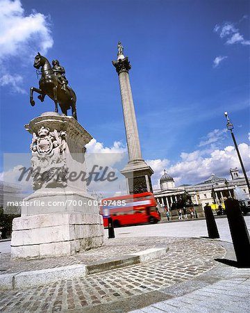 Trafalagar Square London, England Stock Photo - Rights-Managed, Image code: 700-00197485