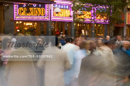 Crowd in Front of Casino London, England Stock Photo - Rights-Managed, Image code: 700-00197862
