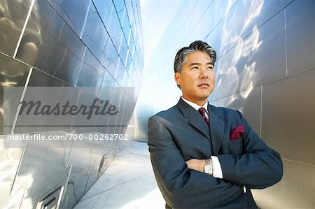 Businessman Outdoors Stock Photo - Rights-Managed, Image code: 700-00262702