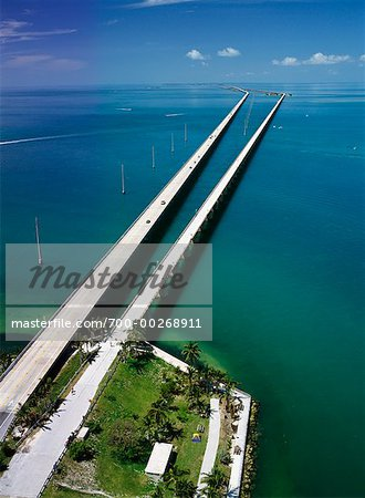 Florida keys roads and bridges seven mile bridge seven mile bridge