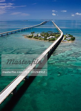 View of the seven mile bridge florida keys florida usa bridges