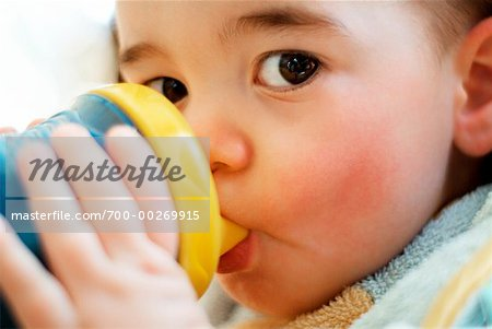 Baby Drinking Stock Photo - Rights-Managed, Image code: 700-00269915