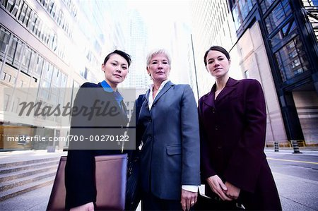 Portrait of Business Women Stock Photo - Rights-Managed, Image code: 700-00270122