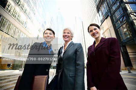 Portrait of Business Women Stock Photo - Rights-Managed, Image code: 700-00270123