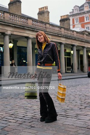 Woman with Shopping Bags Stock Photo - Rights-Managed, Image code: 700-00270725