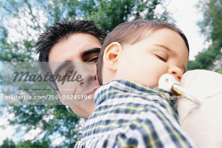 Portrait of a Father and Son Stock Photo - Rights-Managed, Image code: 700-00285206