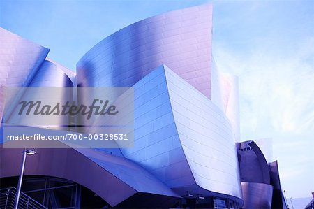 Walt Disney Concert Hall Los Angeles, California, USA Stock Photo - Rights-Managed, Image code: 700-00328531