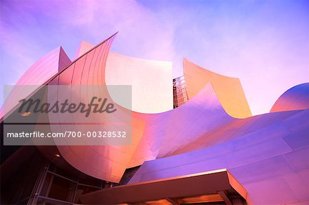 Walt Disney Concert Hall Los Angeles, California, USA Stock Photo - Rights-Managed, Image code: 700-00328532