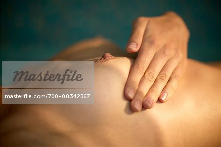 Woman Performing Self Breast Exam Stock Photo - Rights-Managed, Image code: 700-00342367