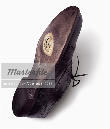 Worn Out Shoe Stock Photo - Rights-Managed, Image code: 700-00342968