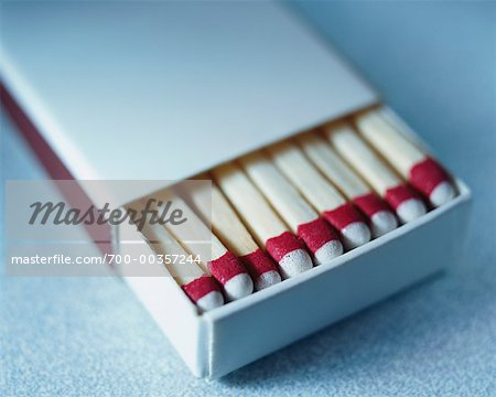 Box of Wooden Matches Stock Photo - Rights-Managed, Image code: 700-00357244