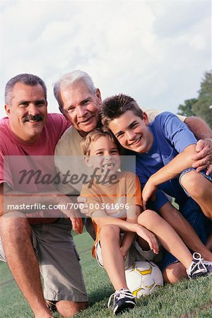 Multigenerational Family Portrait Stock Photo - Rights-Managed, Image code: 700-00361696