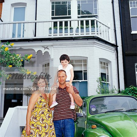 Portrait of Family Stock Photo - Rights-Managed, Image code: 700-00363658