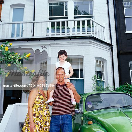 Portrait of Family Stock Photo - Rights-Managed, Image code: 700-00363659