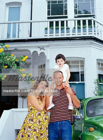 Portrait of Family Stock Photo - Rights-Managed, Image code: 700-00363660