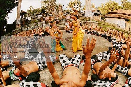 Kecak Dancers, Junjungan Village, Bali