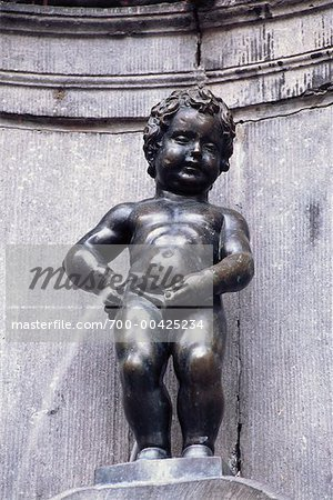 Manneken Pis, Brussels, Belgium Stock Photo - Rights-Managed, Image code: 700-00425234