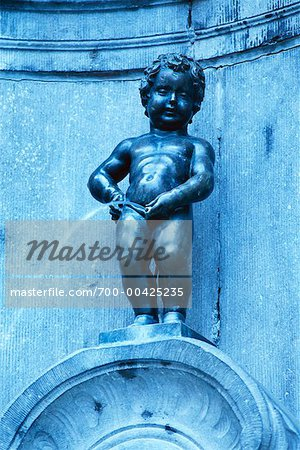 Manneken Pis, Brussels, Belgium Stock Photo - Rights-Managed, Image code: 700-00425235