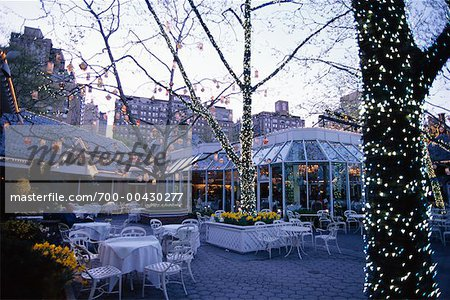 Tavern on the Green, Central Park, New York City, New York, USA Stock Photo - Rights-Managed, Image code: 700-00430277