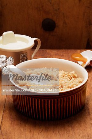 Bowl of Porridge Stock Photo - Rights-Managed, Image code: 700-00430426