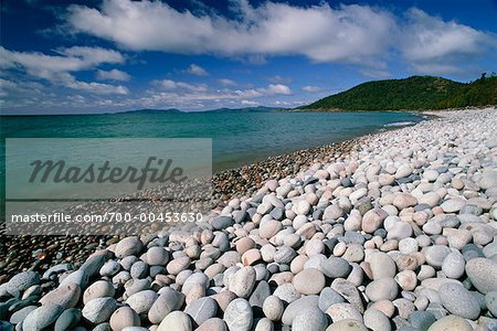 Beach on Lake Superior, Marathon, Ontario, Canada