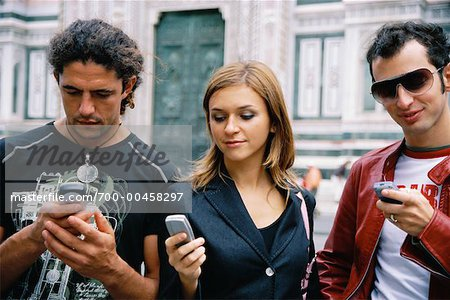 People Using Cell Phones