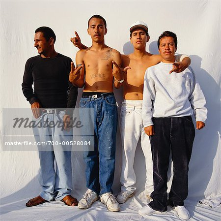 Portrait of Group of Men Stock Photo - Rights-Managed, Image code: 700-00528084
