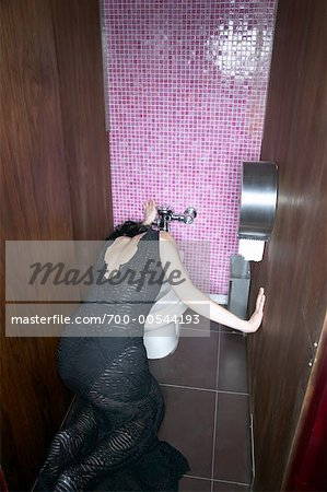 Woman Vomiting Stock Photo - Rights-Managed, Image code: 700-00544193