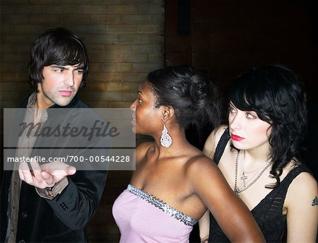 People Waiting in Line Outside Nightclub Stock Photo - Rights-Managed, Image code: 700-00544228