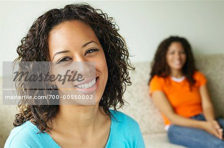 Portrait of Woman Indoors Stock Photo - Rights-Managed, Image code: 700-00550002