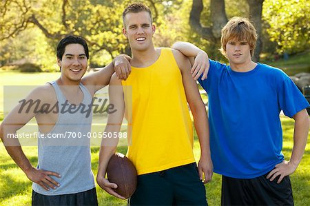 Three Male Teenagers