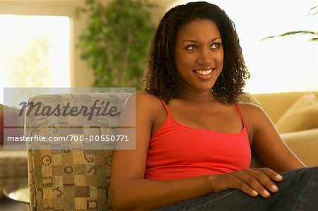Portrait of Woman Stock Photo - Rights-Managed, Image code: 700-00550771