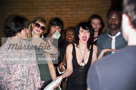 People Waiting to Get Into Nightclub Stock Photo - Rights-Managed, Image code: 700-00551324