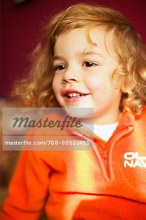 Portrait of Girl Stock Photo - Rights-Managed, Image code: 700-00551405